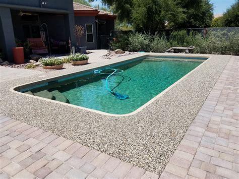 stone pool deck pool deck resurfacing concrete coatings and repairs