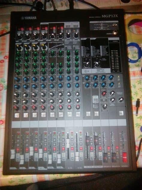 Mixer Yamaha Mgp Series yamaha mgp12x image 1635450 audiofanzine