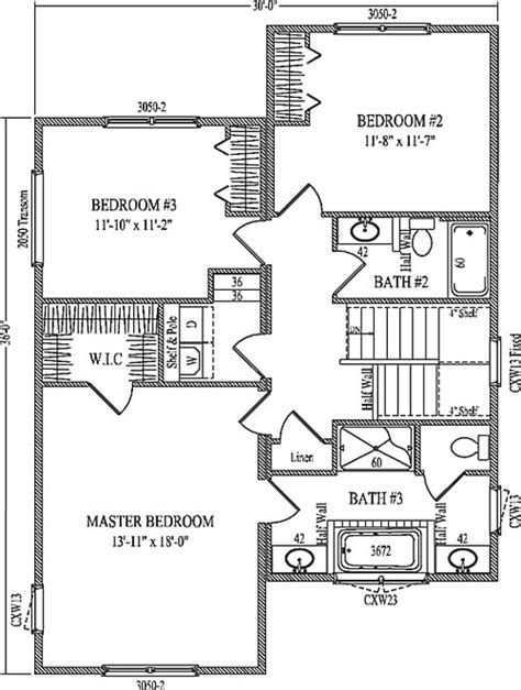 kelsey by wardcraft homes two story floorplan