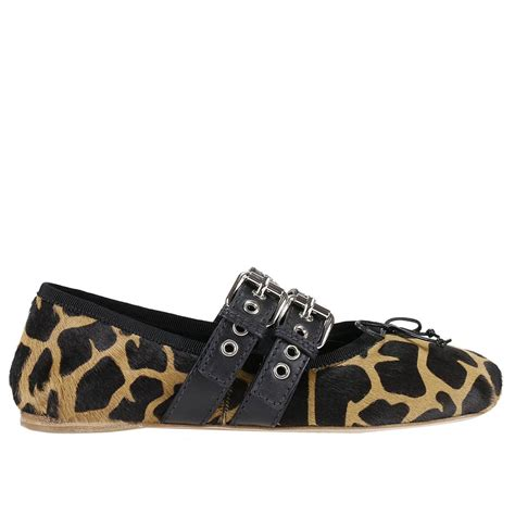 miu miu flat shoes miu miu ballet flats shoes miu miu beige