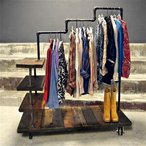 Plumbing Pipe Clothes Rack by Best 25 Galvanised Pipe Ideas On Shelves With