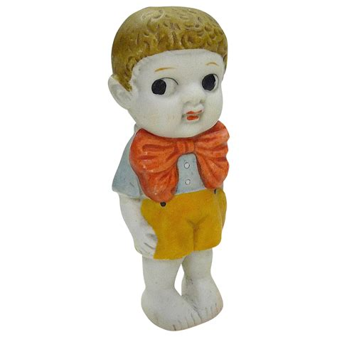 bisque kewpie doll vintage japan bisque boy kewpie doll from bejewelled on