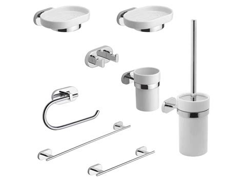 metaform accessori bagno kit accessori bagno louise 8 pezzi metaform