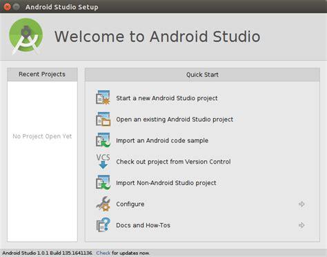 tutorial install android studio di ubuntu install android studio di linux ubuntu java holic