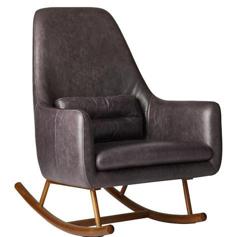 saic quantam rocking chair modern chairs living room chairs and saic quantam charcoal gray rocking chair
