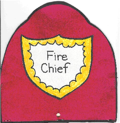 firefighter hat template preschool fireman helmet template