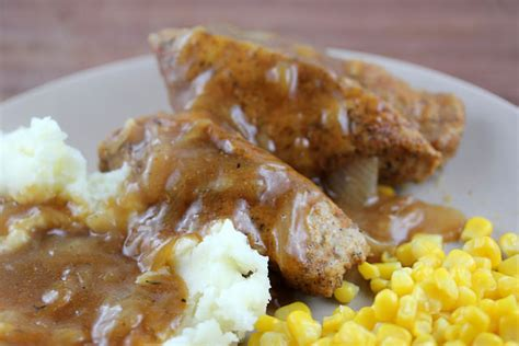 smothered country style pork ribs smothered boneless pork ribs recipe free delicious