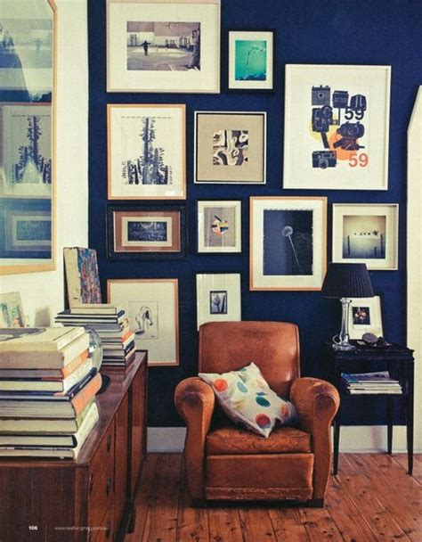 Blue Walls Caramel Leather Interiors Color Therapy Navy Blue 21 Photos Messagenote