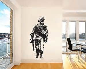 amazing call of duty bedroom wall decal mural ideas for boys