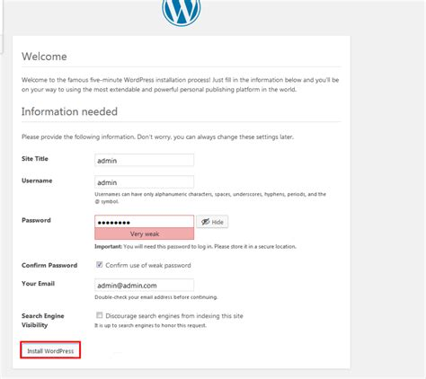 how to login to your wordpress site template monster help