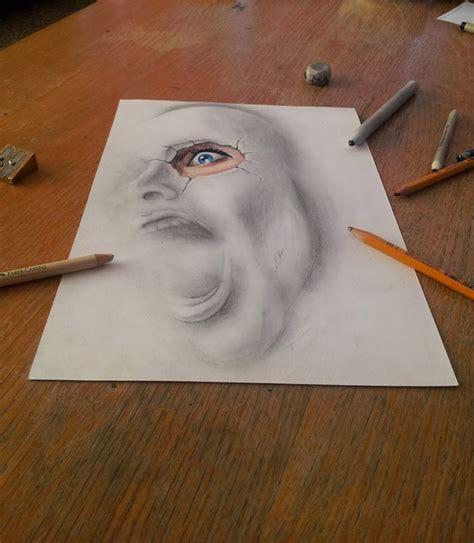 lukisan pensil  blog urang kuningan