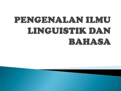 Ilmu Bahasa Sintaksis M Ramlan pengenalan ilmu linguistik dan bahasa