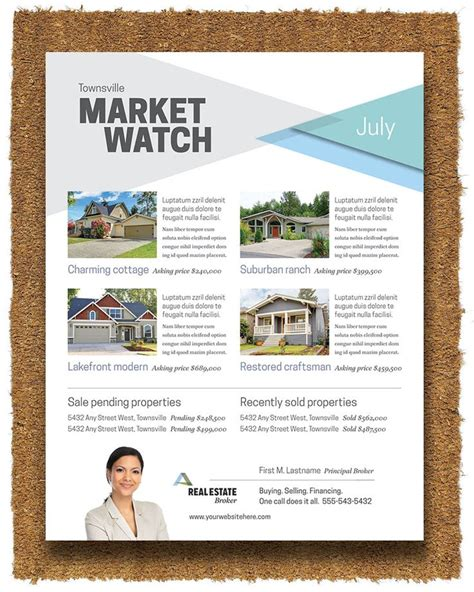 Realtor Flyers Templates by 40 Best Real Estate Marketing Images On Flyer