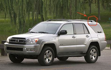4runner Roof Rack End Caps by Wtb Driver Side Rear End Cap For Roof Rack Rails Black