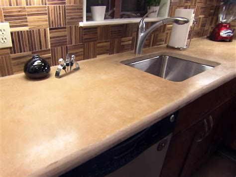 inspired exles of concrete kitchen countertops hgtv