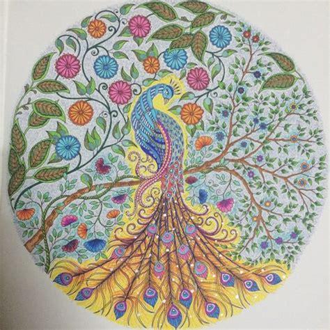 secret garden coloring book peacock peacock secret garden pavāo jardim secreto johanna