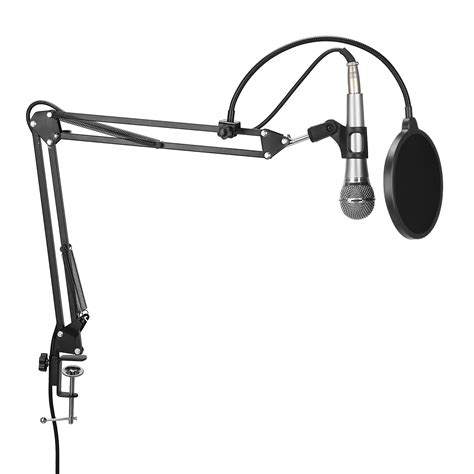 Broadcast Microphone Stand microphone stand broadcast mic studio desktop suspension