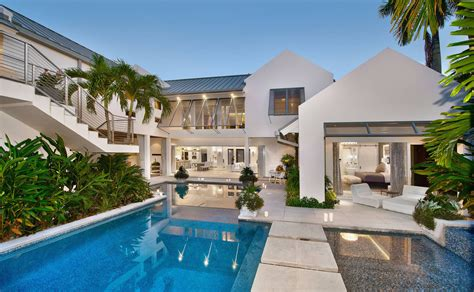 custom resort  beach style modern coastal home