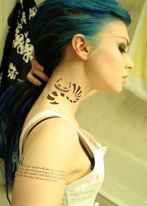 tattoo girl neck top 70 beautiful neck tattoos for girls in 2016