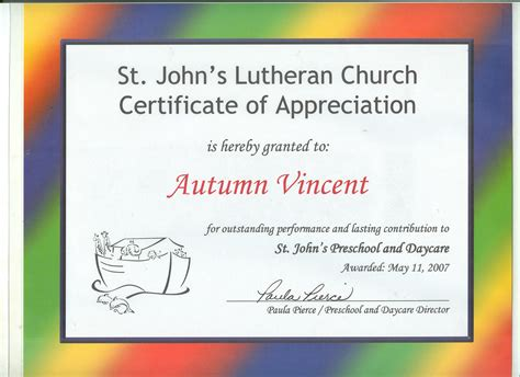 weebly church templates church certificate of appreciation images