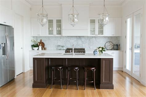 Kitchen Designs With White Cabinets by Room Tour A Hamptons Kitchen Diy Decorator