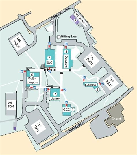cofc cus map penn state library map library and zoo idoimages co
