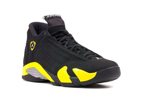 Air 14 Retro White new air 14 retro thunder black vibrant yellow white retro shoes