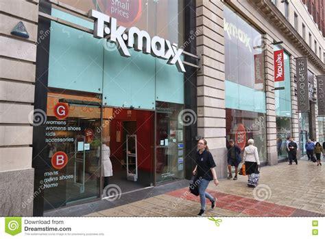 tk maxx editorial stock image image 78740334