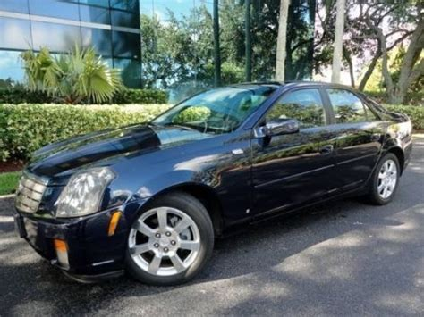 2006 cadillac cts gas mileage sell used 2006 cadillac cts base sedan 4 door 3 6l in