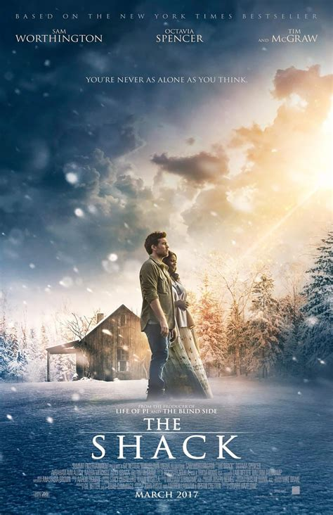 the shack movie the shack 2017 poster 1 trailer addict