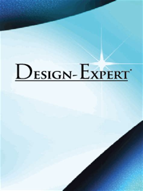 Design Expert Forum | stat ease design expert 10 0 7 software updates nsane
