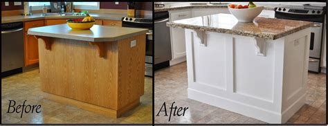 kitchen island molding style by lori may kitchen island makeover