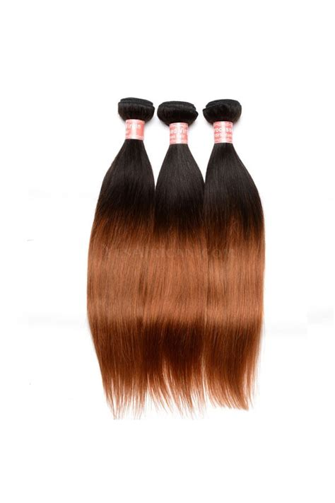 ombre weave hair st ombre hair weave color1b 30 silky straight virgin human