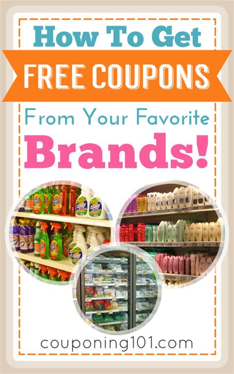 printable grocery coupons by brand how to get free coupons from your favorite brands