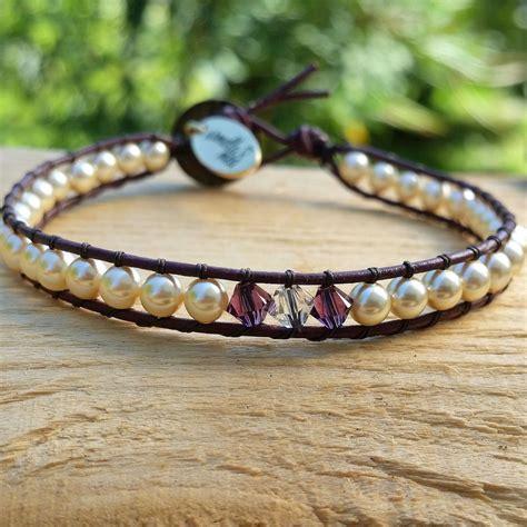 Swarovski Handmade Jewelry - swarovski jewelry handmade bead bracelet by armellameajewelry