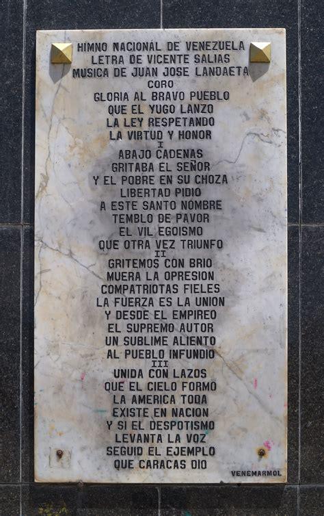 daniel jimenez venezuela gloria al bravo pueblo gloria al bravo pueblo wikiwand