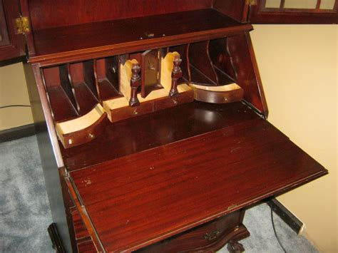 drop down secretary desk antique secretary cabinet with drop down desk for sale