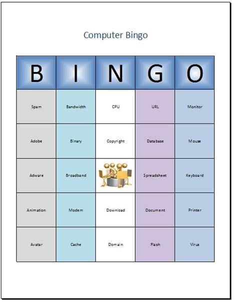 how to make a bingo card in excel bingo cards excel schweitzer s presentations