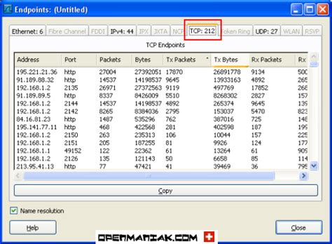 wireshark easy tutorial wireshark statistics endpoints tcp