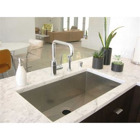 36 undermount kitchen sink 36 inch stainless steel undermount single bowl kitchen
