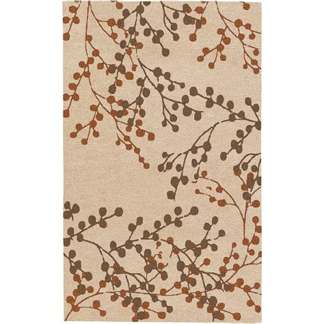 Artistic Weavers Area Rug by Artistic Weavers Blossoms Beige 9 Ft X 12 Ft Area Rug