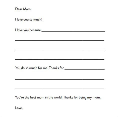 sle letter format for kids letter writing template for