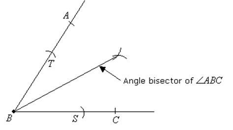 You Can Bisect An Angle Using Paper Folding Constructions - construct construct the angle bisector