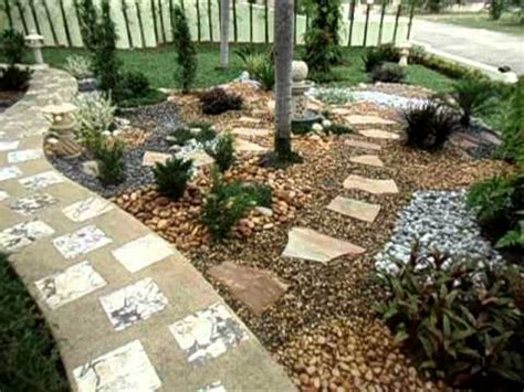 Pebbles And Rocks Garden Pebble And Rock Front Garden Pattaya