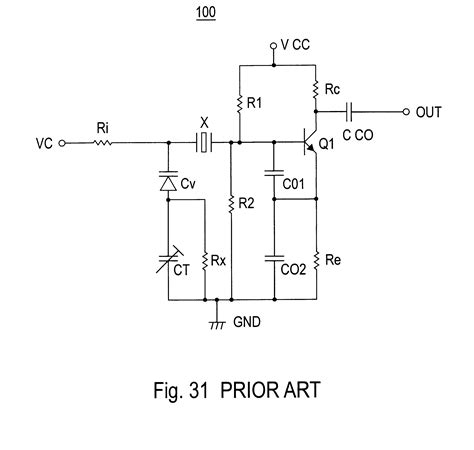 variable capacitor array patent us6172576 capacitor array unit connected to oscillation circuit with a piezoelectric