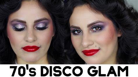 foundation makeup for 70 and over grwm 70 s disco glam makeup youtube