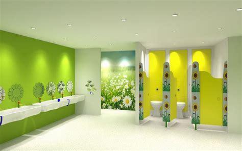 toilet layout for schools lanservices commercialwashrooms 3drender of preschool