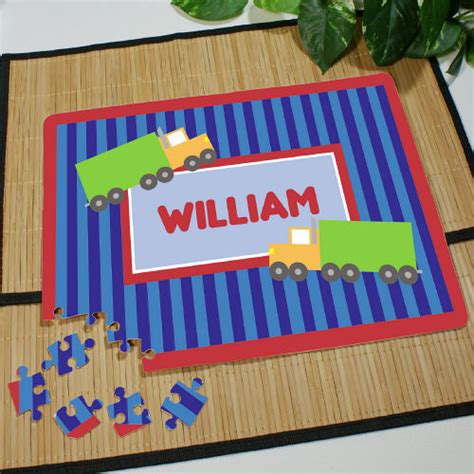 gifts for pro fans personalized truck driver fan jigsaw puzzle
