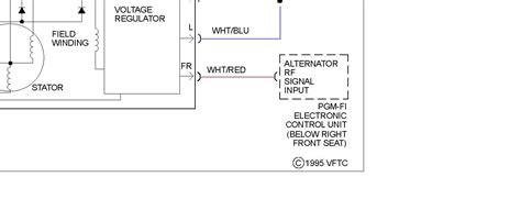 what do the wire colors on alternator wire harness
