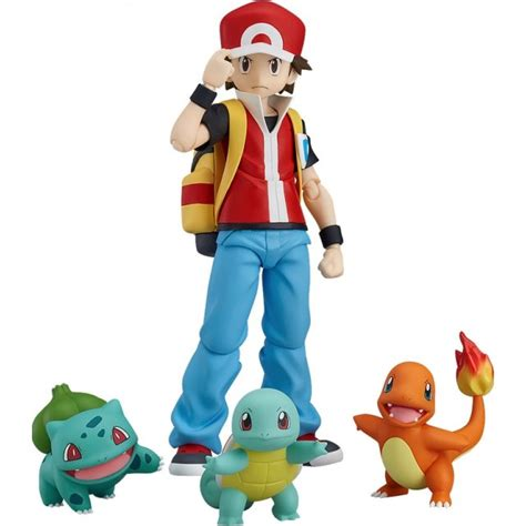 Japanese Gift by Figma Pokemon Red